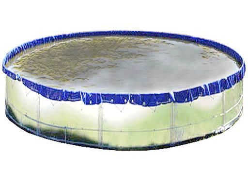 Резервуары, емкости металлические разборные до 500 куб.м